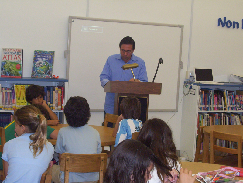 Traveling Poet Visits South Florida Schools and Universities